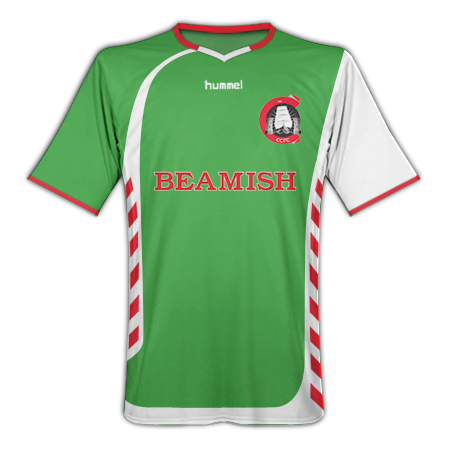 09-10 Cork City home shirt