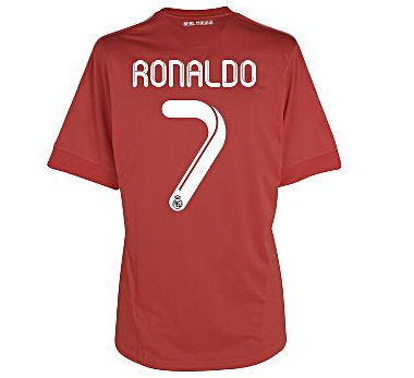 2011-12 Real Madrid 3rd Shirt (Ronaldo 7)