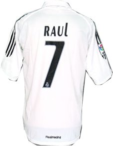 Real Madrid home (Raul 7) 05/06